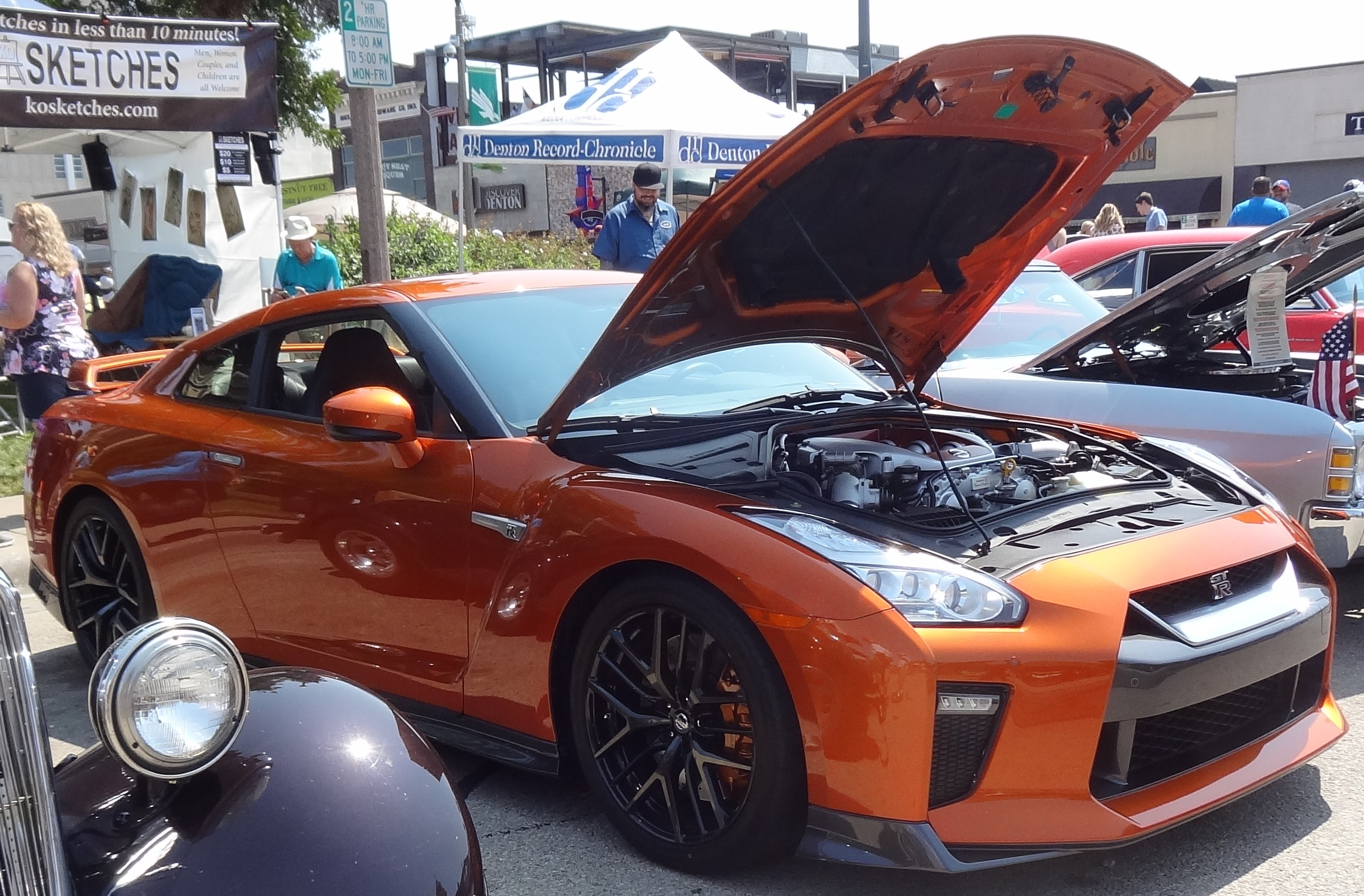 2017 Nissan GT-R Premium at Denton Art and Autos